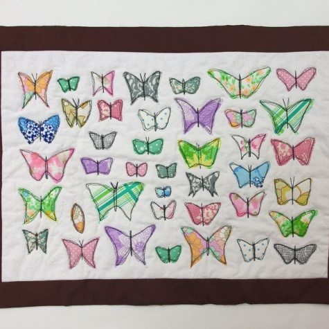 Butterfly wall hanging class