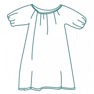 After swim dress  pattern