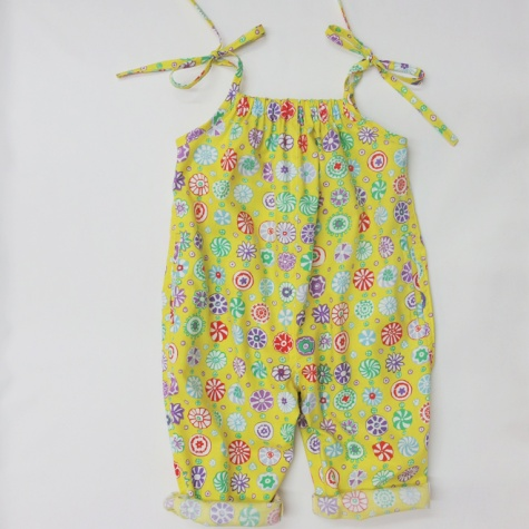 Kids playsuit pattern