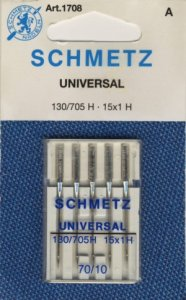 Schmetz sewing machine needles - Universal 60/8 - 100/16