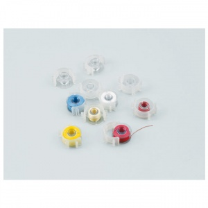 Brother - 10 plastic bobbins and clips