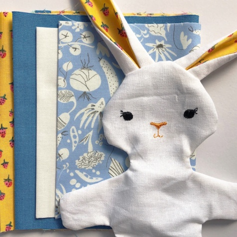 Bunny Kit with clothes - make it yourself